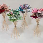 bouquet origami grue 2