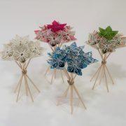 bouquet origami fleur 3